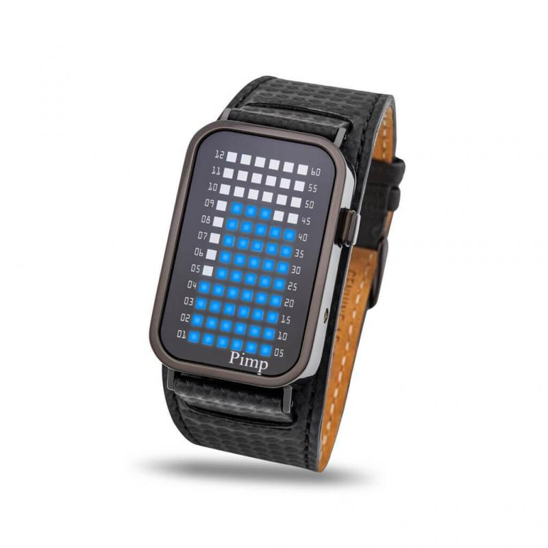 Name:  pimp-p2-pusher-led-watch-tokyoflash-japan-black-case-black-carbon-fiber-leather-strap-blue-leds-.jpg Views: 48 Size:  39.9 KB