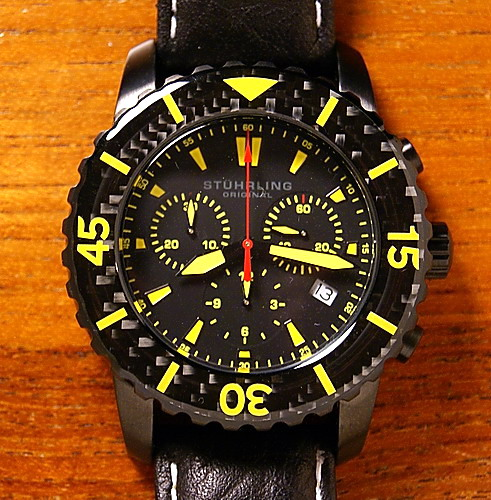 Name:  Stuhrling Yellow Chrono.jpg