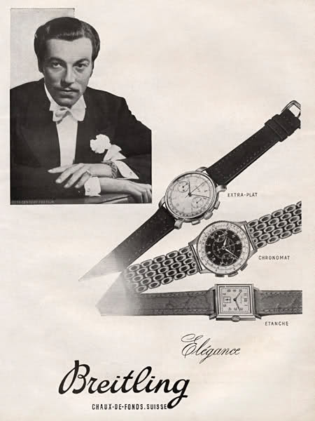 Name:  Breitling 1947 - Cesar Romero.jpg