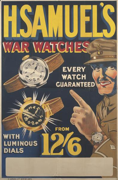 Name:  H. Samuel War Watches poster.jpg